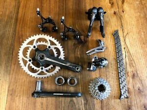 Campagnolo Record 10 speed groupset group set  chorus 50 35 ultra torque