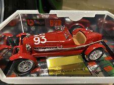 Burago BBurago Alfa Romeo 8C Monza 1931 1/18 Scale 1000 Miglia Nr. 93 Code 3214