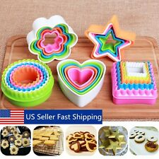25x Fondant Cake Cookie Sugarcraft Cutter Decorating Mold Tool Kitchen Supplies
