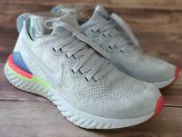 Nike Womens Sneakers Size 6.5 Epic React Flyknit 2 Hydrogen Blue