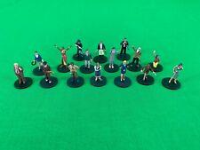 Arkham Horror/Eldritch Horror Investigator Miniatures Lot of 16