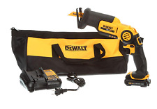 Dewalt Reciprocating Saw Kit DCS310S1 Max Pivot 12v Volt Cordless Handheld Power