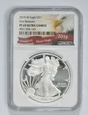 2019-W Proof American Silver Eagle - NGC PF69 FR *686