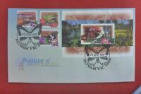 NATURE OF AUST FDC  1997 FDC ELTHAM BUTTERFLY PICT PMK