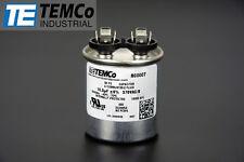TEMCo 10 MFD uF Run Capacitor 370 vac Volts AC Motor HVAC 10 uf