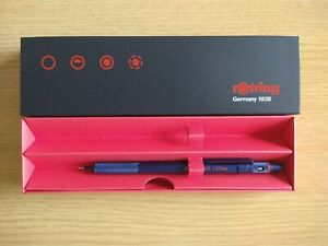 Rotring 600 Mechanical Pencil 0.5mm in Paper Box 2119971 - Iron Blue Body