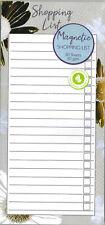 Magnétique Shopping To Do List Bloc Note Tropical Design Doublé Papier 80 Pages