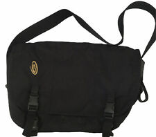 Large/XL Timbuk2 Designs Black Messenger Bag vintage crossbody USA