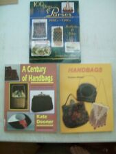 New listing 3 (three) Antique Purse Bead Handbags Price Guide Collector Book 3 Books