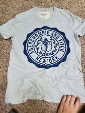 Abercrombie & Fitch Mens Size M Gray T-Shirt
