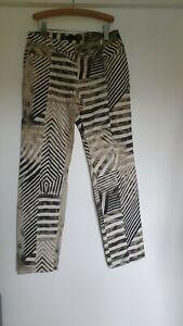 Just Cavalli Vintage Animal Print Jeans 32 Waist