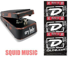 Dunlop Slash Cry Baby Classic Wah Pedal SC95  ( 3 SETS OF GUITAR STRINGS )