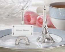 Kate Aspen 4 Eiffel Tower Place Card Holder Set Of 4 Theme 11063NA