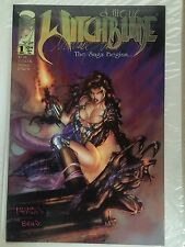 WITCHBLADE #1, Signed by Michael Turner & David Wohl, First Print, Free Shipping