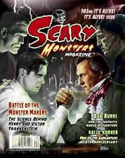 SCARY MONSTERS #103 Frankenstein WAR OF THE GARGANTUAS Irwin Allen RO-MAN New!