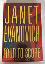 Four To Score by Janet Evanovich First Edition Signed by Author
