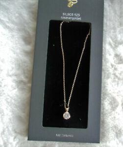 TCM Tchibo Damen Halskette 45 cm *925 Silber* rosegold *NEU*OVP