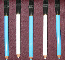 Dressmakers Pencil/Tailors Chalk Pencil - With Brush For Easy Erasing