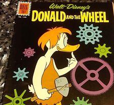 FOUR COLOR #1190 DONALD AND WHEEL, FINE (DELL 1961) 6.0