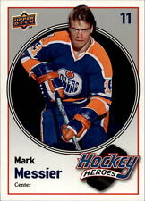 2009-10 Upper Deck Hockey Heroes Mark Messier #HH19 Mark Messier Rangers