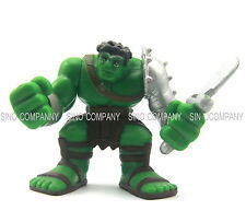 "hasbro KING HULK Metallic Gladiator Armor Marvel Super Hero Squad 2.5"" figure"