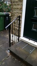 wrought iron handrail very decorative