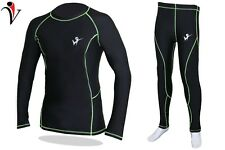 Men Compression Base Layer PANT/SHIRT Quick Dry Sport Leggings Running Gym