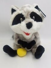 "New Disney Exclusive Pocahontas 12"" Meeko Raccoon Plush Toy Cute Stuffed Animals"