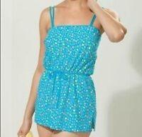 Misses Women's summer Swimwear bathing suit 2PC set Swimdress L XL 1X 2X 3X new