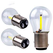 2x 1157 BAY15D DC12V White COB LED Bulb Tail Car Reverse Backup Brake Light Lamp