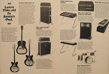 1967 Vox Amplifiers~Drums~Guitar~Keyboard Music Promo Print AD