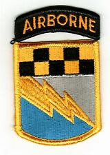525th MILITARY INTELLIGENCE BRIGADE PATCH WITH AIRBORNE TAB FULL COLOR
