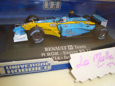 Universal Hobbies 1/43 Renault F1 R 202 RS 22 - 2002 2197