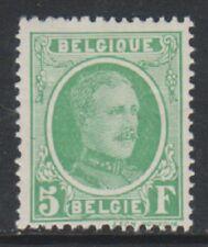Belgium - 1927, 5f Emerald - M/M - SG 372