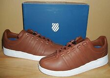K-Swiss Men's Classic VN Low Sneakers Shoes Friar Brown Leather New US 9 /EU 42