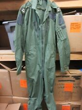 BRITISH RAF MK 16-B SAGE GREEN AIRCREW FLIGHT SUIT COVERALL LARGE LONG