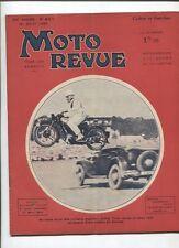 Moto Revue N°651  ; 31  aout 1935 : cadre et fourche moto 22 croquis