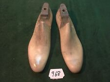 Vintage 1944 Pair US NAVY Shoe Lasts  Size 10 C STERLING Factory Mold #968