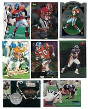 Terrell Davis 1995 CLASSIC, SP SILVER & UD ROOKIE CARDS PLUS TWO SAMPLE CARDS