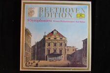 BEETHOVEN EDITION 9 symphonien/symphony DGG Bohm 8-LP NM