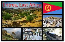 ERITREA, EAST AFRICA - SOUVENIR NOVELTY FRIDGE MAGNET - SIGHTS / TOWNS - NEW