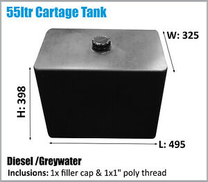 AUSSIE MADE. 55LTR CARTAGE TANK DIESEL . ASK FOR FREIGHT PRICE.