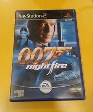 007 James Bond Nightfire GIOCO PS2 VERSIONE ITALIANA