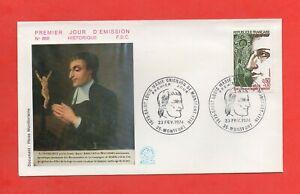 FDC 1974 - Louis Marie Montfort Grignion - 1673-1716 (1616)