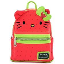 Loungefly Sanrio Hello Kitty Strawberry Fruit Kawaii Mini Backpack Bag SANBK0351