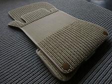 $$$ Lengenfelder Rips Fußmatten für Mercedes Benz S-Klasse W220 + BEIGE + NEU $$