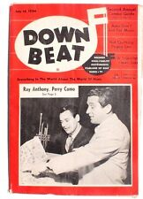 Vtg July 14, 1954 DOWN BEAT Vol. 21 No. 14 (Perry Como) Music MAGAZINE