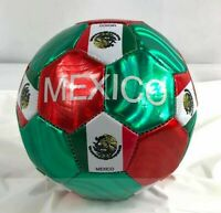 Mexico Soccer Ball Durable Foot Ball Official Size Five Blue and White