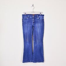 $169 7 For All Mankind Signature Pocket Pkt Bootcut Stretch Denim Jeans 30 X 27