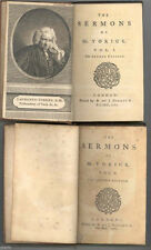 The Sermons of Mr. Yorick, Sterne, Laurence, Editor.